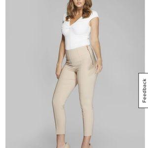 Marciano Cropped Candi Pant Brun/Sheer fancy